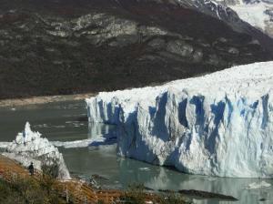 Perito Moreno after March 2012 rupture